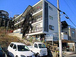 兵庫県川西市南花屋敷2丁目の賃貸マンションの外観