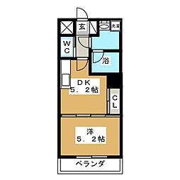 S−FORT片平[2階]の間取り