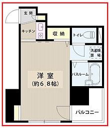 東京都文京区小石川2丁目の賃貸マンションの間取り