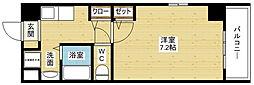 M'PLAZA新大阪駅前[6階]の間取り