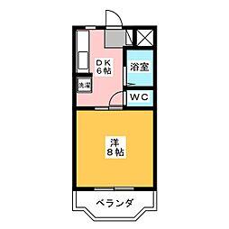 アルバI[2階]の間取り