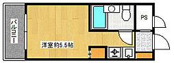 フォーラム藤崎[305号室]の間取り