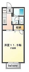 サリーハウス[1階]の間取り