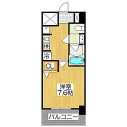 SWISS京都堀川EAST[302号室]の間取り