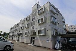 北海道江別市上江別の賃貸マンションの外観