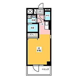 仮)サン・名駅太閤ビル[2階]の間取り