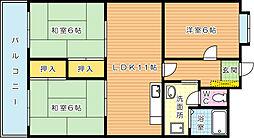 飯野ビル[302号室]の間取り
