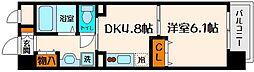 アフィニティ21[2階]の間取り