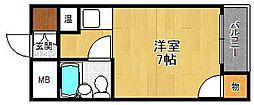 ル・モンド[305号室]の間取り