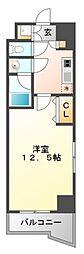 ラ・フィーネ江坂[201号室号室]の間取り