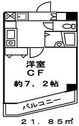 ブロード大塚[603号室]の間取り
