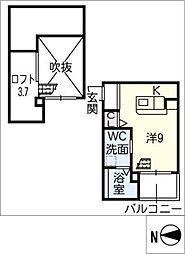 ベーネ二瀬町[1階]の間取り