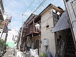 東京都足立区千住柳町の賃貸アパートの外観