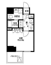 プレール・ドゥーク東京EAST V[5階]の間取り