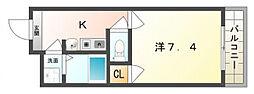 平井ハイツ3番館[2階]の間取り