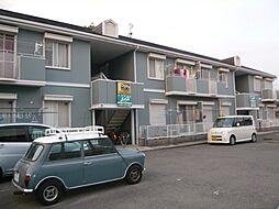 大阪府堺市北区東浅香山町1丁の賃貸アパートの外観