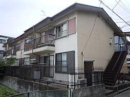 大阪府豊中市服部豊町1丁目の賃貸アパートの外観