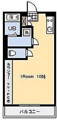 中村ビル[103号室]の間取り