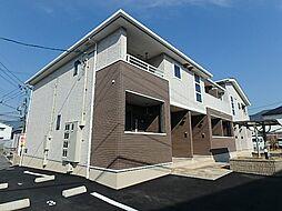 広島県広島市安佐南区川内4丁目の賃貸アパートの外観