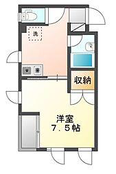 パークスクエア5[2階]の間取り