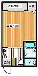 泉ハイツ[3A号室]の間取り
