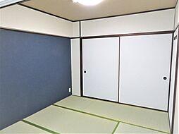 和室二部屋あります