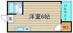 OMレジデンス白鷺[2階]の間取り