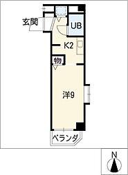 メゾン・ド・シャトー 705号[7階]の間取り