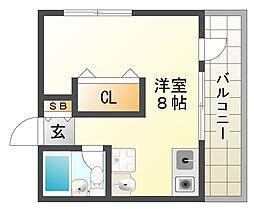 兵庫県神戸市垂水区神陵台8丁目の賃貸マンションの間取り