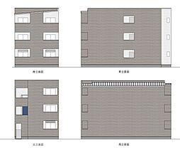 愛知県名古屋市守山区小幡南3丁目の賃貸アパートの外観