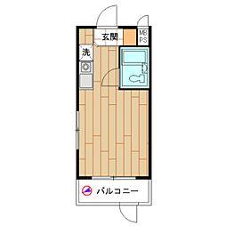 モナークマンション桜上水[0108号室]の間取り
