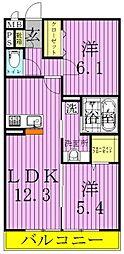 RSA3[1階]の間取り