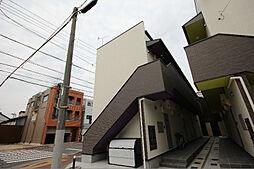愛知県名古屋市中川区露橋1丁目の賃貸アパートの外観