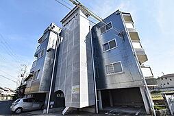 滋賀県大津市大江4丁目の賃貸マンションの外観