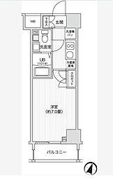 レジディア笹塚II[2階]の間取り