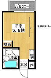 田渕ビル[3階]の間取り