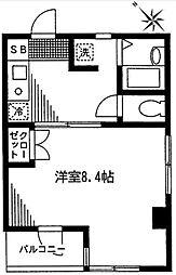 ヴィオラセッテ[2階]の間取り