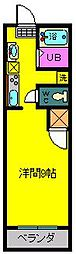 T・Sマンション[2階]の間取り