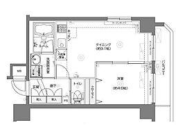 フェニックス横濱関内ベイマークス[6階]の間取り