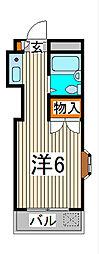 クイーンエレガンス[2階]の間取り