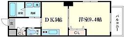 ラフォルテ日本橋[5階]の間取り
