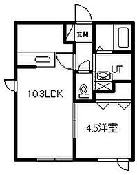新築 Relache豊岡[108号室]の間取り