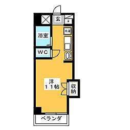 CASA本郷[7階]の間取り
