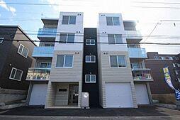 北海道札幌市西区西町北17丁目の賃貸マンションの外観