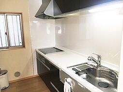 オール電化仕様のキッチンです。