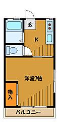 OSハウス[2階]の間取り