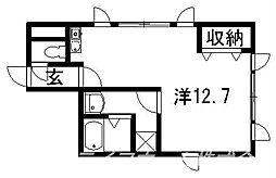 トーヨビル[3階]の間取り