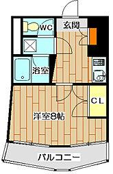 アップルハイツ南芥川[3階]の間取り