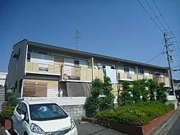 ハイマート上野芝[1階]の外観