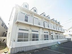 千葉県柏市新富町1の賃貸アパートの外観